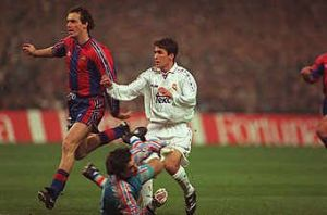 Laurent Blanc, FC Barcelona, Real Madryt