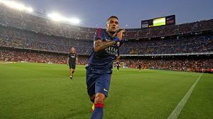 Zubizarreta: Jesteśmy zadowoleni, że Alves został z nami