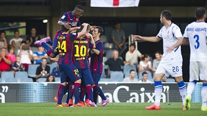 FC Barcelona B – R. Saragossa: Wysoka wygrana w trzecim meczu (4-1)