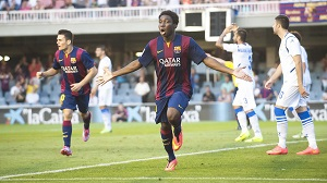 Dongou najlepszym strzelcem w Segunda