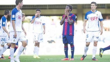 Niesprawiedliwy wynik: FC Barcelona B – UE Llagostera (0-1)