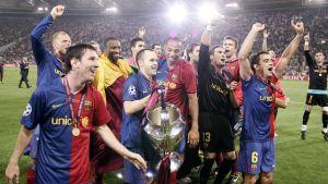 Iniesta gotowy na setny mecz w Lidze Mistrzów