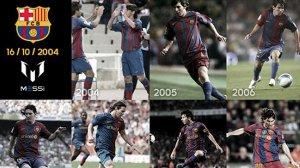 Messi: Cieszę się, że mogę nosić te barwy