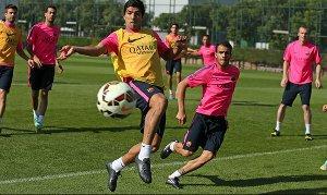 Przedostatni trening przed meczem z Eibarem