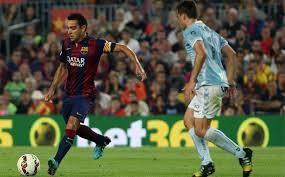 Xavi błyszczy w meczu z Eibarem