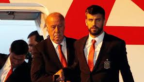 Del Bosque: Nie zgadzam się z krytyką, która spadła na Piqué