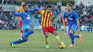 Pedro w meczu z Getafe