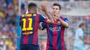 Messi i Neymar – magiczny duet