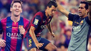 Bravo, Busquets i Messi – nietykalni