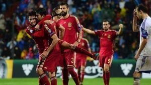 Andres Iniesta, Hiszpania, FC Barcelona, Pique, Bartra