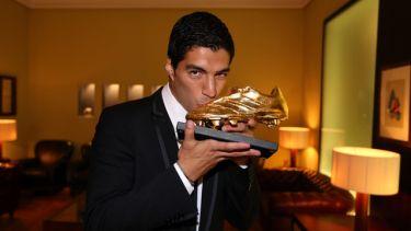 Luis Suárez odebrał Złotego Buta