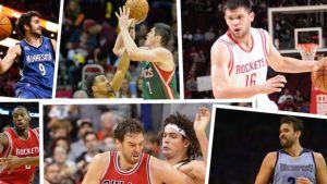 Byli koszykarze Barçy w NBA
