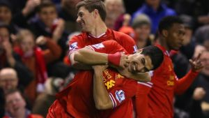 Steven Gerrard, Liverpool, Luis Suarez, Blaugrana