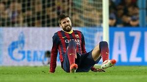 Piqué: Podczas przerwy reprezentacyjnej pozostałem pod obserwacją
