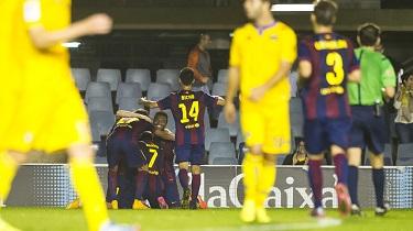 Barça B-Alcorcón: Rehabilitacja poprzez zwycięstwo (4:1)