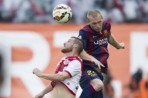 Mathieu ożywia konkurencję na lewej obronie