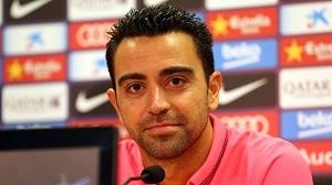 Xavi: Konkurencja jest duża