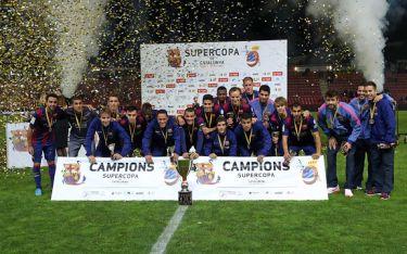 Pierwsze trofeum w sezonie: FC Barcelona – RCD Espanyol 1:1 (4:2 rzuty karne)
