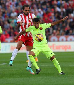 Rafinha: Suárez rozegrał wielki mecz