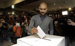 Guardiola wziął udział w referendum niepodległościowym