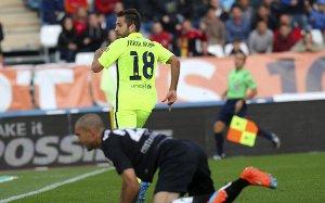 Alba dziewiątym strzelcem Barçy w tym sezonie