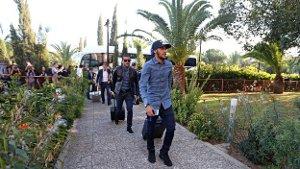 Piłkarze są już na Cyprze