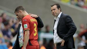 Trener reprezentacji Belgii odwiedzi Thomasa Vermaelena