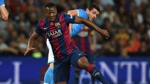 Adama Traoré przedłużył swój kontrakt  z Barçą