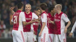 Ajax na drugim miejscu w Eredivisie