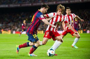UD Almería – FC Barcelona; Składy