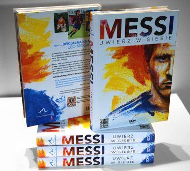 """Prezentacja książki: """"Messi. Uwierz w siebie""""!"""