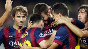APOEL Nikozja – FC Barcelona; Składy