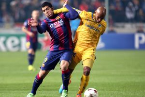 Pierwszy gol Suáreza dla FC Barcelony
