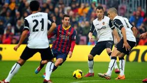 Valencia CF – FC Barcelona; Składy