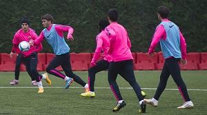 Barça B: Trening i lista powołanych