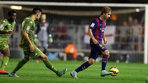 Barça B – Numancia: Odwrócić złą kartę
