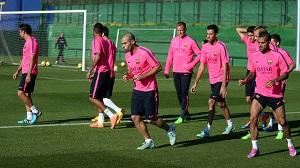 Przygotowania do meczu z Sevillą