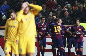 Barça musi wygrać z PSG by być pierwsza w grupie