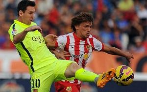 Messi i jego szczęście do poprzeczek i słupków
