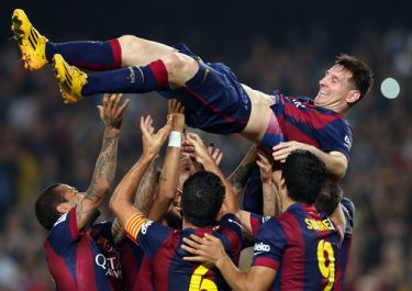 Messi ustanawia rekord: FC Barcelona – Sevilla FC (5:1)