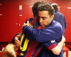 Xavi: Jeśli Messi jest szczęśliwy, to Barça też
