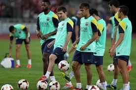Messi i Neymar wrócą później do treningów