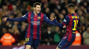 Messi i Neymar w najlepszej jedenastce 2014 roku według 'L'Équipe'