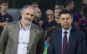 Andoni Zubizarreta i Josep Maria Bartomeu