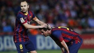 Iniesta: Życzę Messiemu, by zdobył Złotą Piłkę