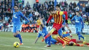 Getafe CF – FC Barcelona; Składy