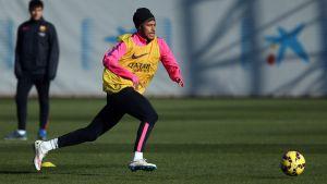 Neymar z pozwoleniem na grę