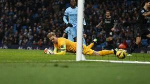 Potknięcie City w meczu z Burnley