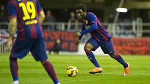 Barça B-Mirandés: Cel, kolejna wygrana