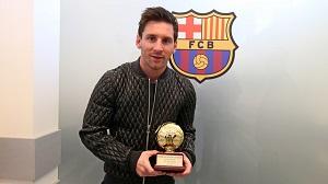 Iniesta i Messi otrzymali nagrodę od IFFHS za rok 2013